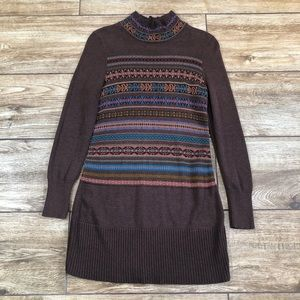 Peruvian Connection Pima Cotton Dress Tunic Sz S
